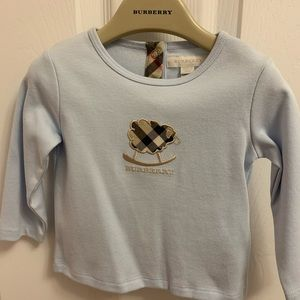 Burberry long sleeve -size 6M (Brand New with Tag)